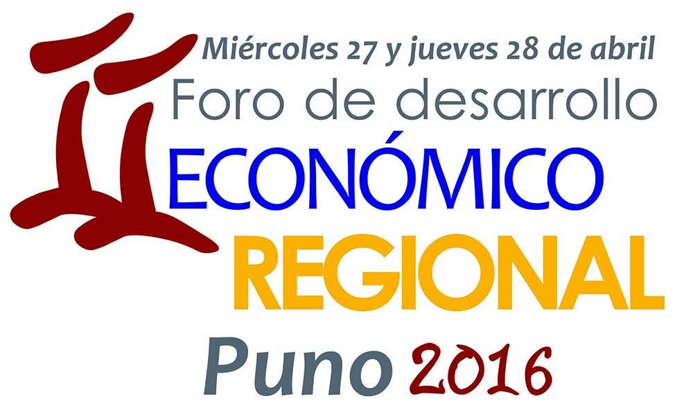 II Foro de Desarrollo Económico Regional - Puno 2016
