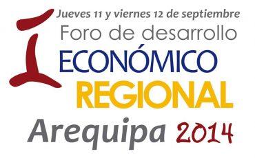 I Foro de Desarrollo Económico Regional - Arequipa 2014