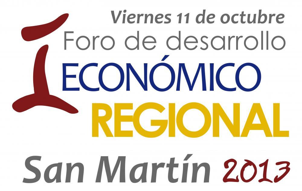 I Foro De Desarrollo Económico Regional - San Martín 2013