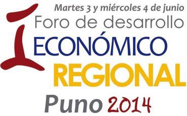 I Foro de Desarrollo Económico Regional - Puno 2014