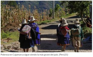 Pobreza en Cajamarca_Perú21
