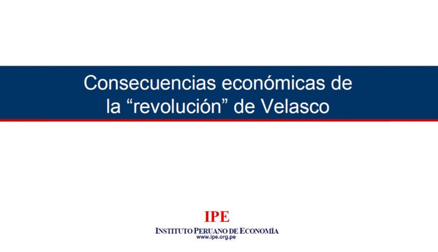 revolución, velasco, economía, Perú