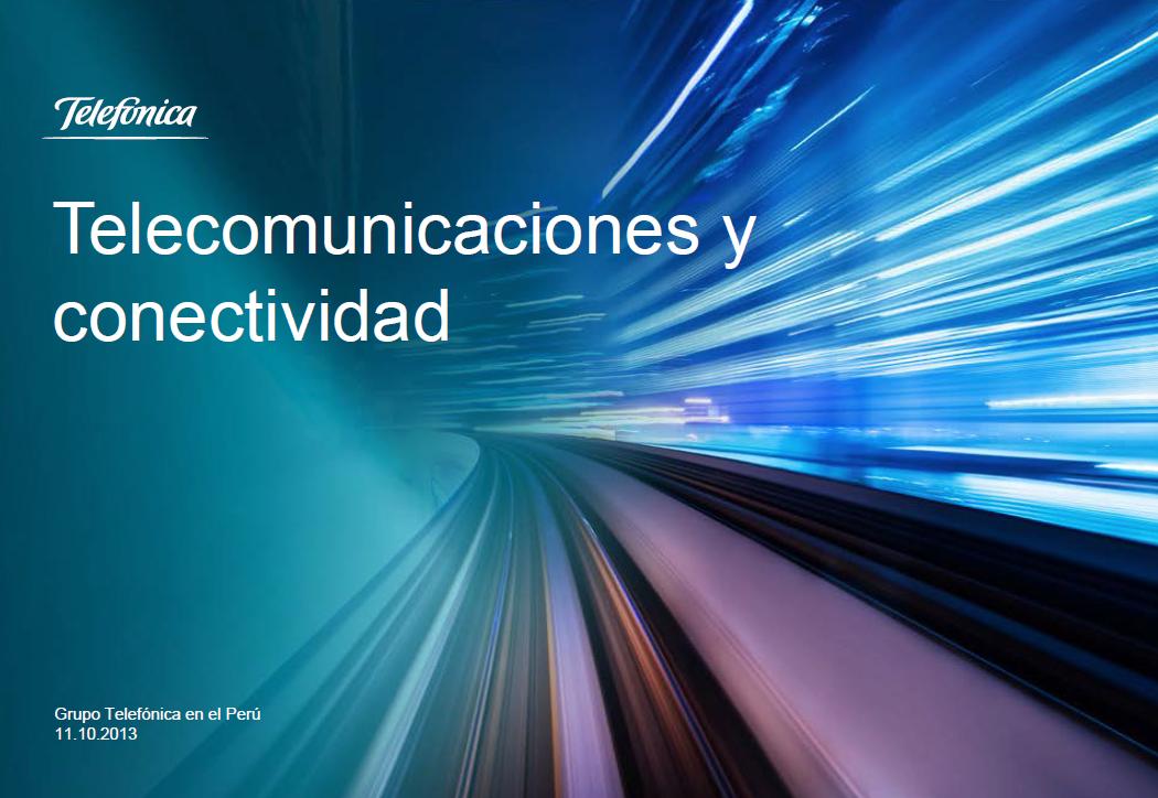 Telecomunicaciones y conectividad - Verónica Mizushima