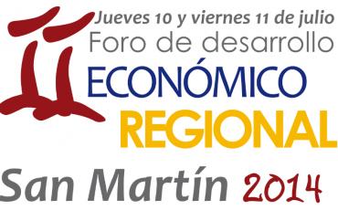 II Foro de Desarrollo Económico Regional - San Martín 2014