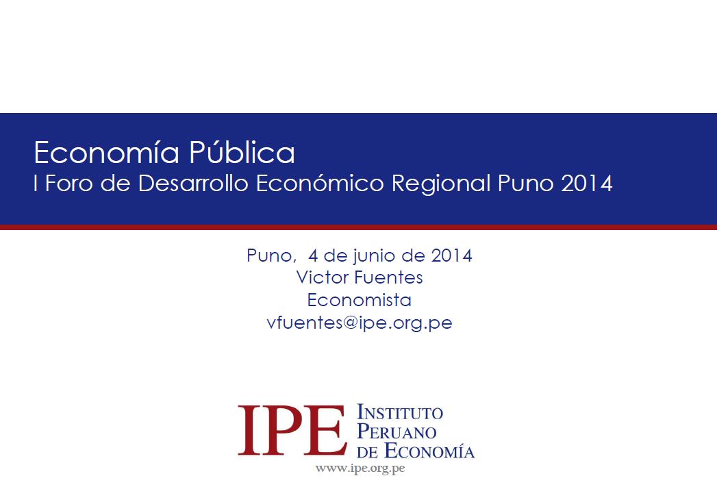 Economía Pública - Victor Fuentes