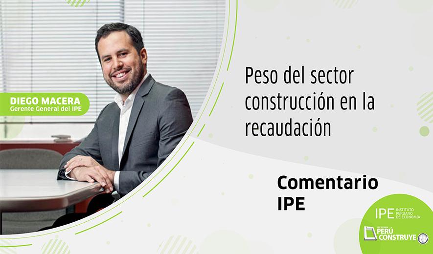 Diego Macera, columna sobre el sector construcción