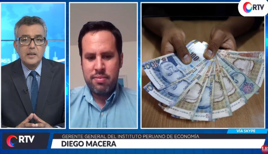 Diego Macera, CTS, economía, coronavirus