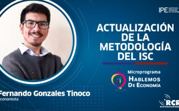isc, impuestos, Fernando gonzales, perú, economía