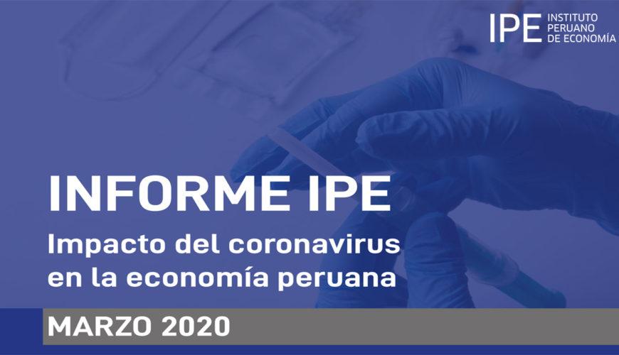 impacto, coronavirus, economía, perú