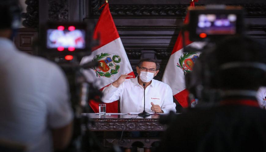 medidas del gobierno, economía, Martín Vizcarra, Perú