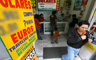 Coronavirus afecta al dólar