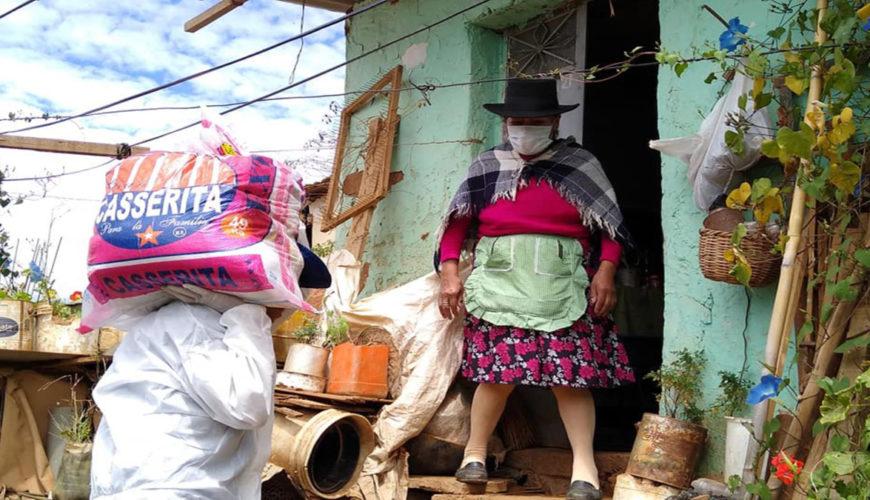 Huánuco, familias vulnerables, economía, Perú, coronavirus