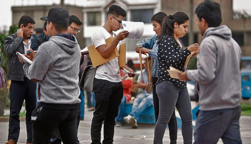 ingresos, desempleo, economía, perú