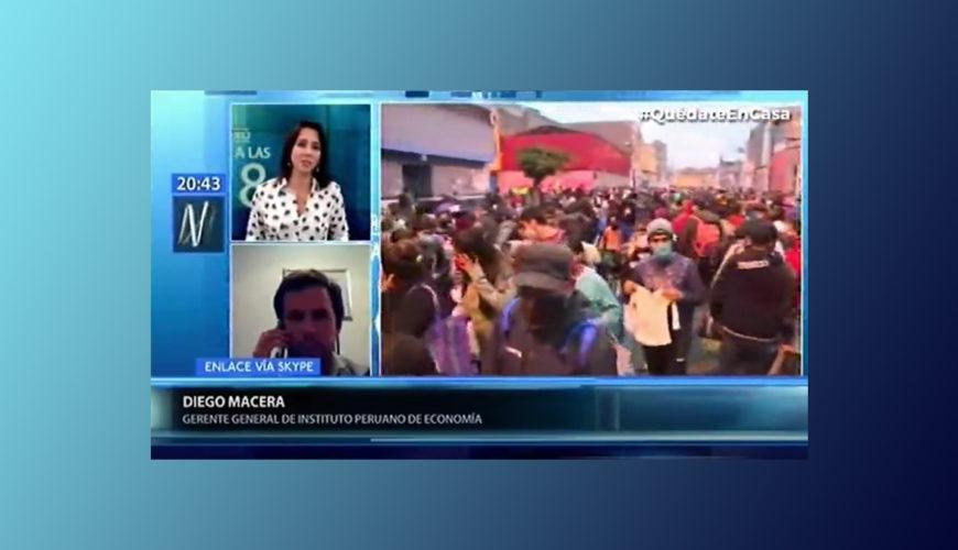 economía, informalidad, Perú, Diego Macera