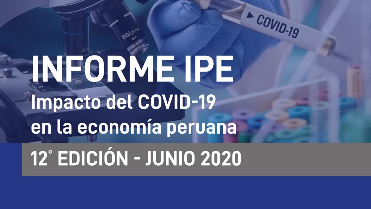 reactivación, economía, coronavirus, Perú, IPE