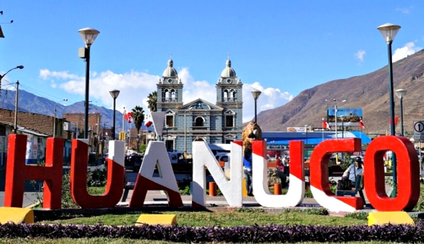 Huánuco, economía, crecimiento, Perú