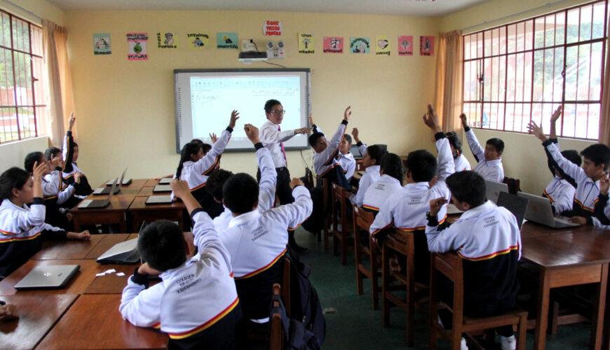 educación, Perú, presupuesto