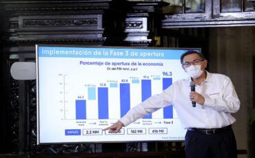 fase 3, reactivación, economía, perú
