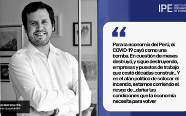 economía, Diego Macera Poli, Covid-19, Perú