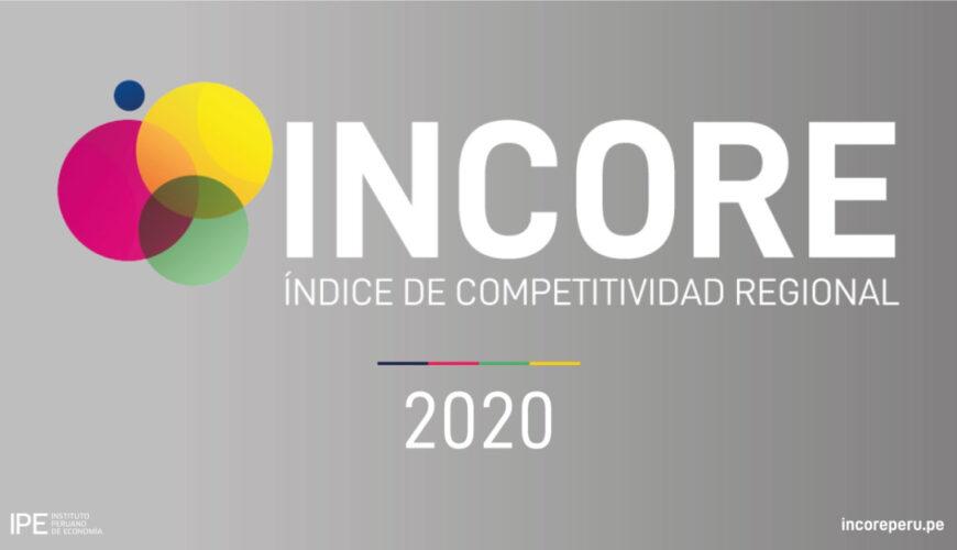 incore, competitividad, regiones, Perú