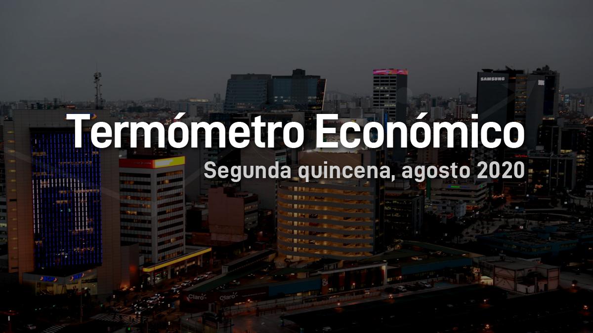 economía, termómetro económico, informe, indicadores, Perú