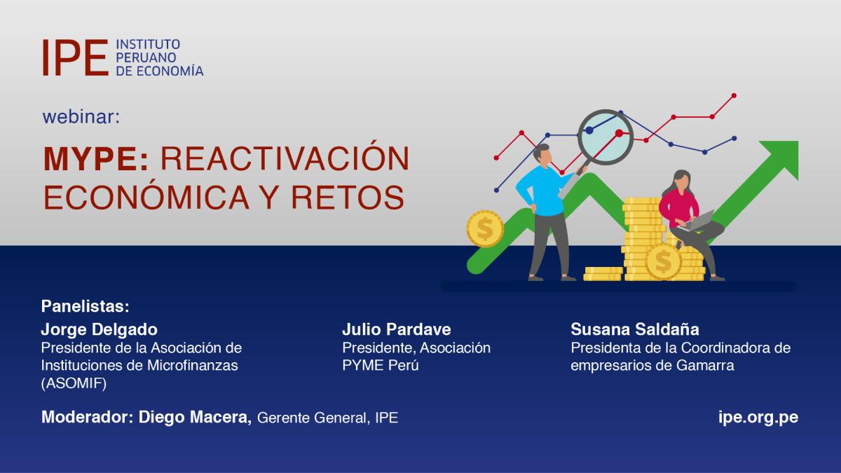 webinar, mypes, economía, perú