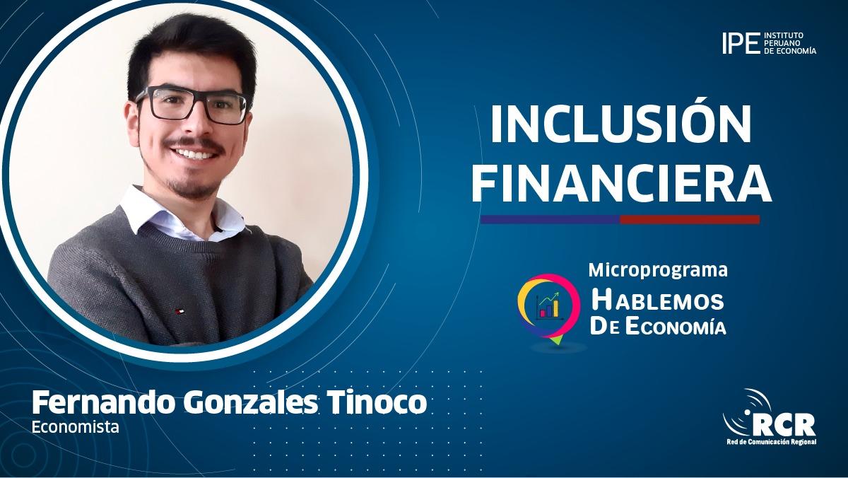Fernando Gonzales Inclusión financiera