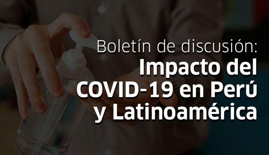impacto del COVID-19 en la economía peruana