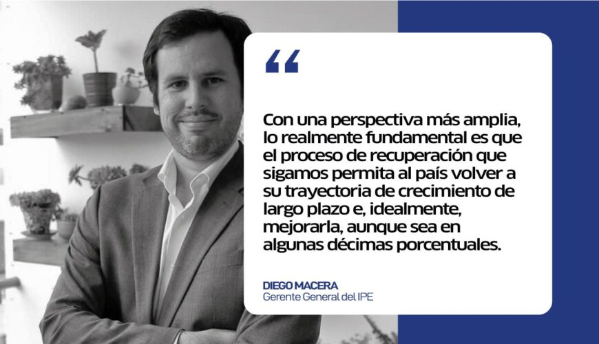 rebote, economía, Diego Macera, Perú, reactivación económica