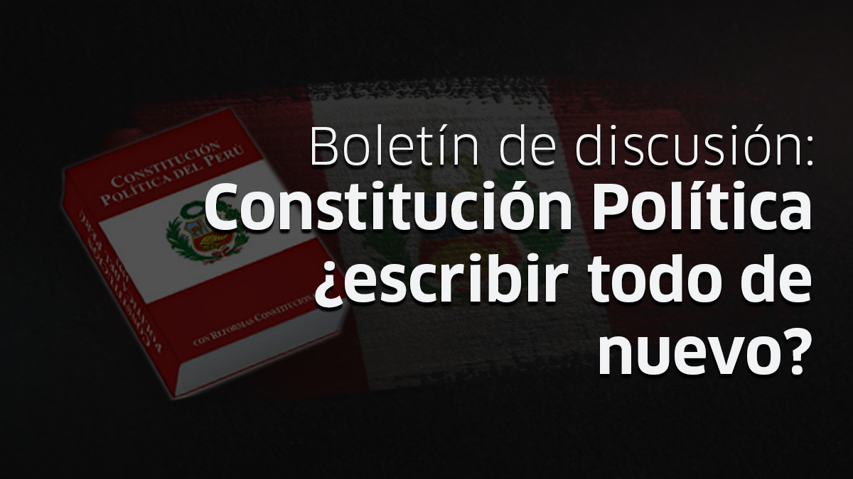 constitución, economía, Perú