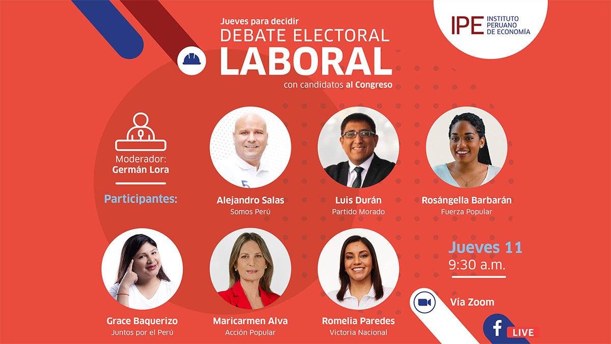debate, elecciones, laboral, congreso