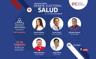 salud, debate, elecciones, congreso