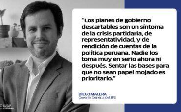 planes de gobierno, Diego Macera, política, Perú