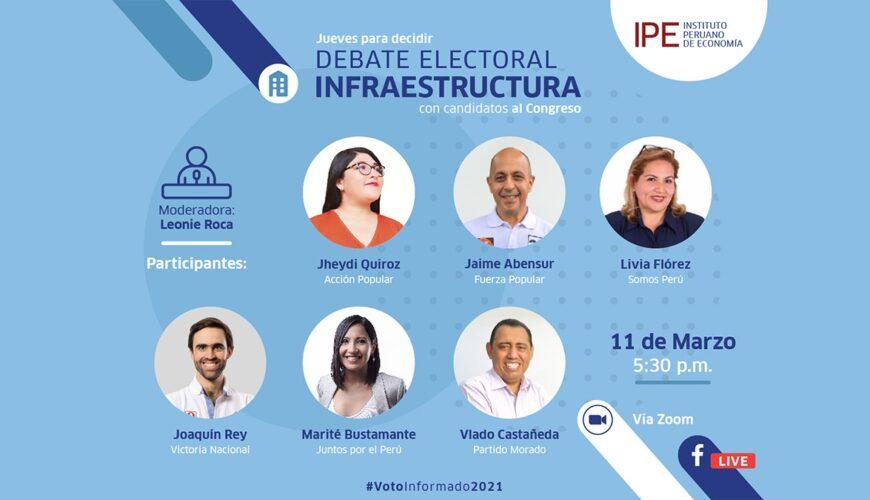 Debate infraestructura
