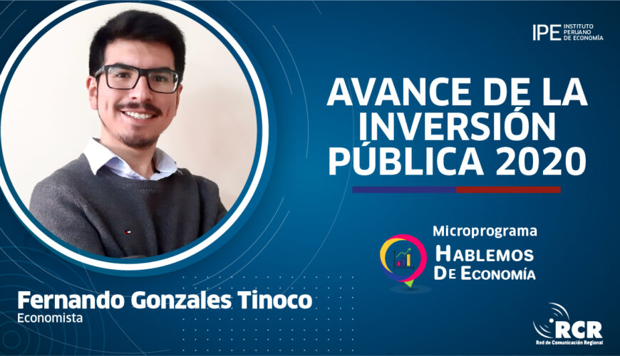 inversión pública, economía, Perú