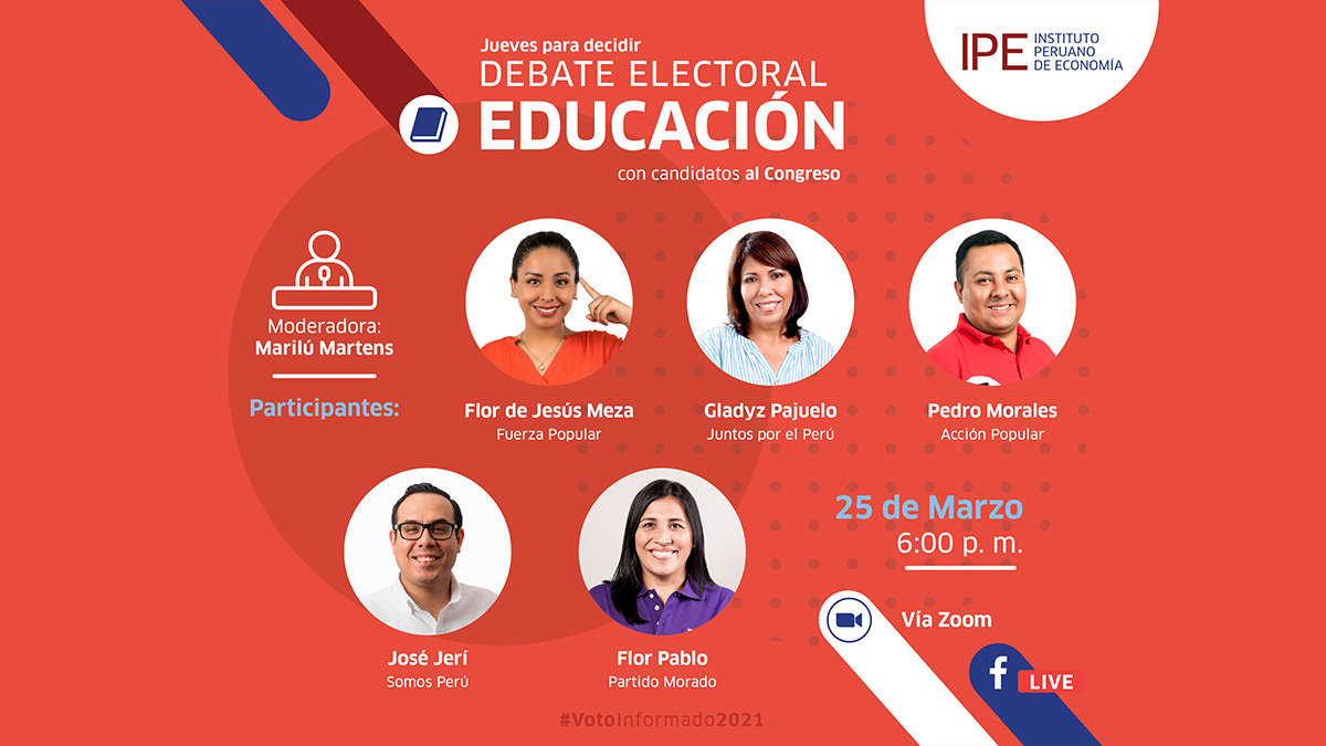 debate, educación, ipe, elecciones