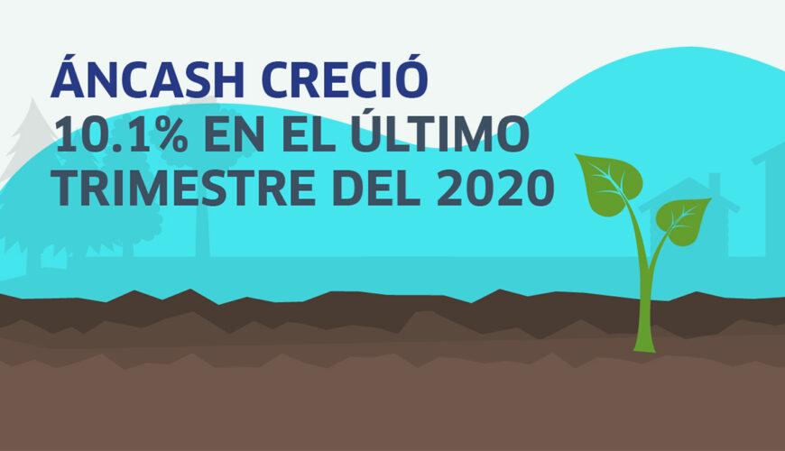 Áncash, economía, crecimiento, Perú, regiones