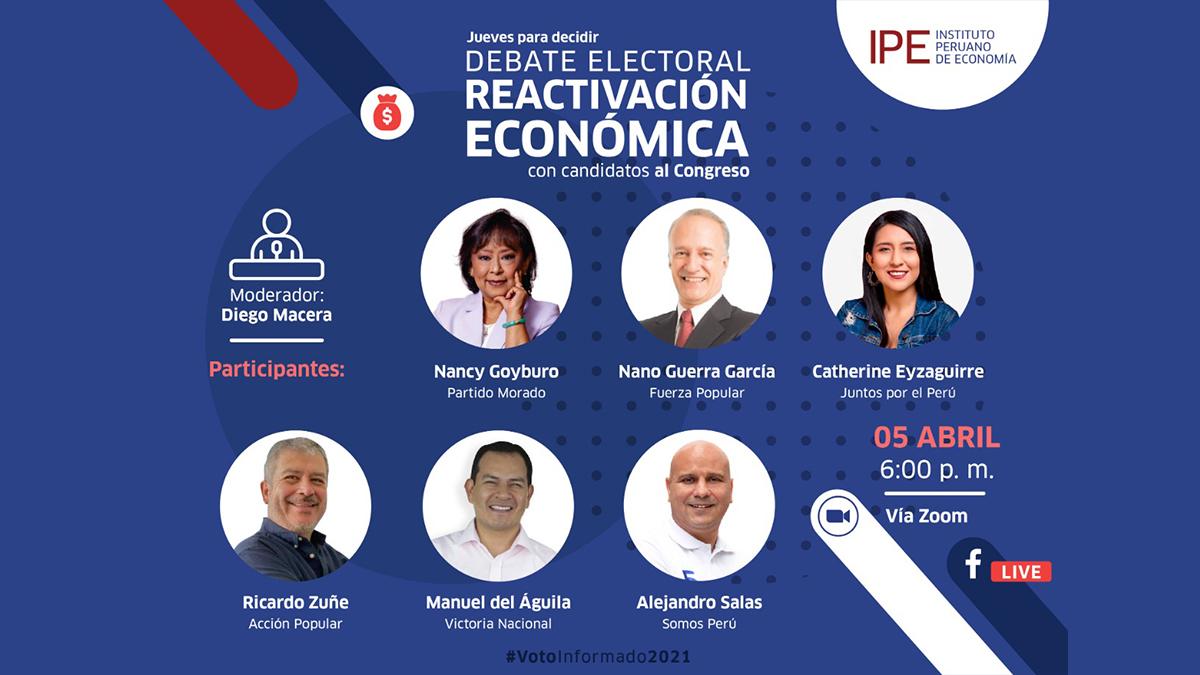 debate reactivación económica, perú, economía