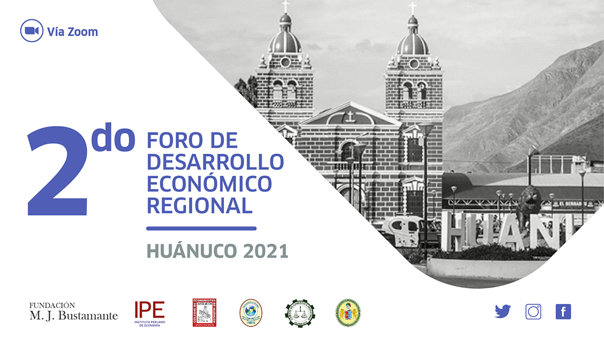 foro Huánuco, evento, Perú, economía, políticas públicas