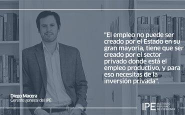 propuestas, elecciones, candidatos, Diego Macera