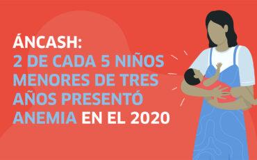 Áncash, anemia, regiones, Perú, salud, infancia, niños