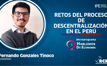 descentralización, Perú, economía, Fernando Gonzales