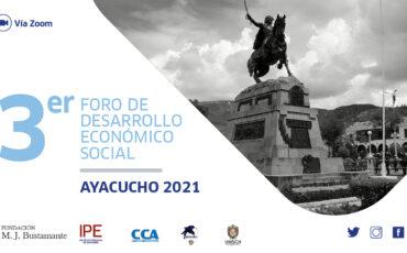 foro, Ayacucho, evento, regiones, economía, políticas públicas