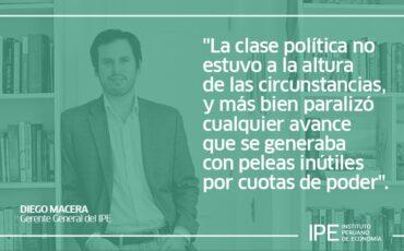 el futuro esquivo, Diego Macera, economía, Perú