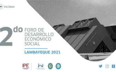 foro lambayeque, chiclayo, economía, políticas públicas