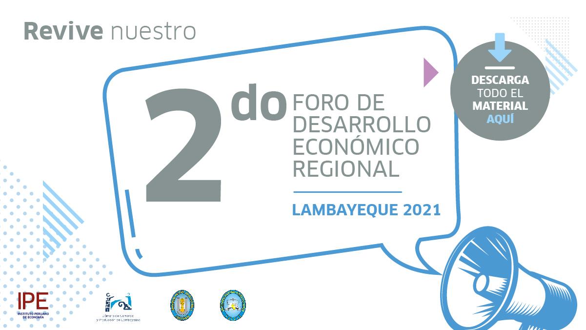 Foro, Lambayeque, economía, políticas públicas