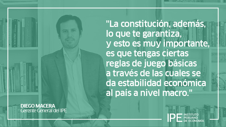 constitución, cambio constitucional, Diego macera