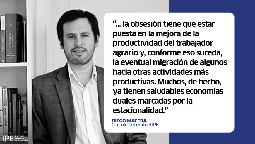 agrario, agrícola, agricultor, deuda agraria, economía, política, Diego Macera