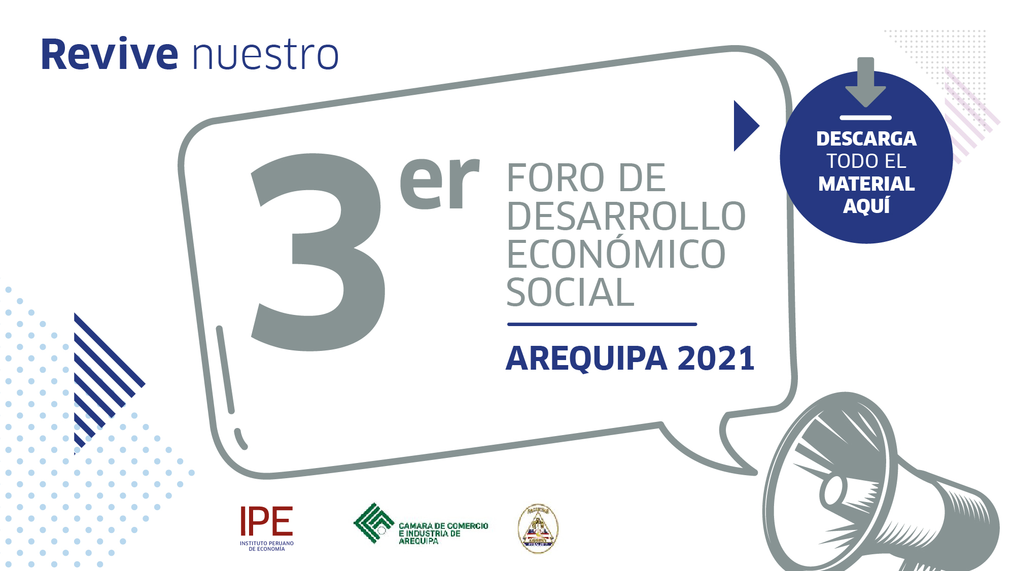 foro, Arequipa, economía, Perú