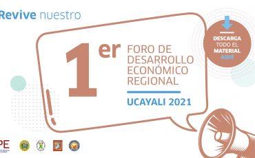 foro Ucayali, economía, desarrollo, Ucayali, evento